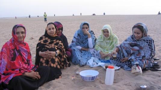 Etudiantes Marocaines à l'heure du thé à la menthe (Agadir)