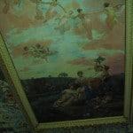 Grande fresque au plafond