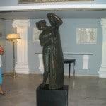 Une statue de Sissi