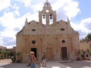 L'église d'Arkadi