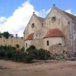 Les absides de l'église