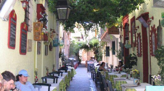 Restaurants à la Canée