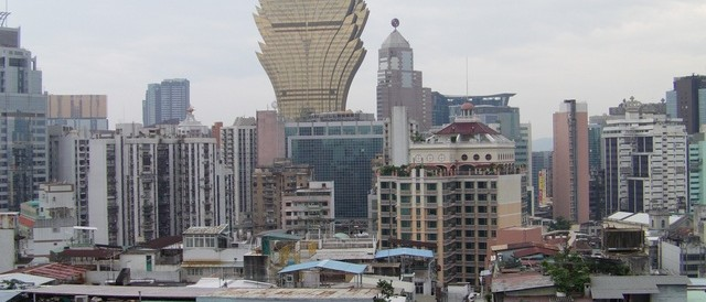 Une vue de Macao