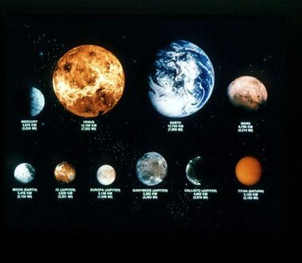 Photos de planètes
