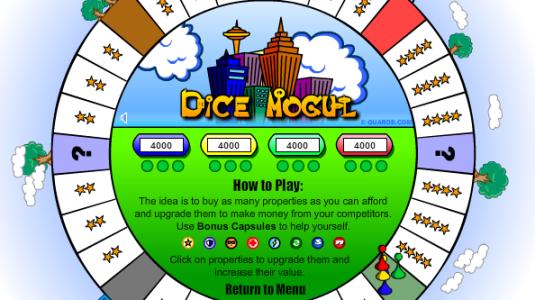 Dice Mogul le jeu de monopoly