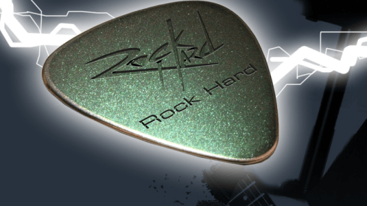 Rock Hard Diamond Guitar Pick