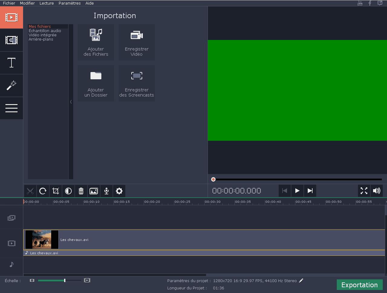 écran de capture pleine page