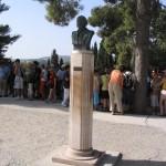 statue de Sir Arthur Evans