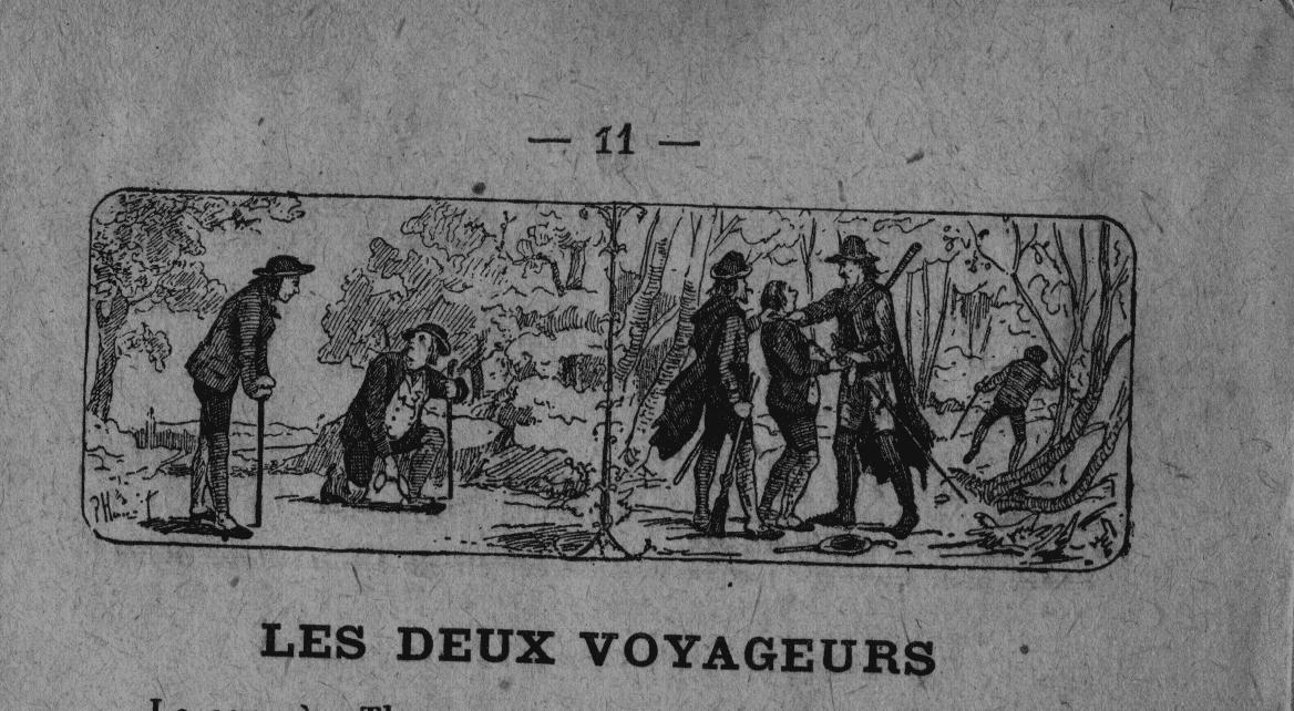 LES DEUX VOYAGEURS