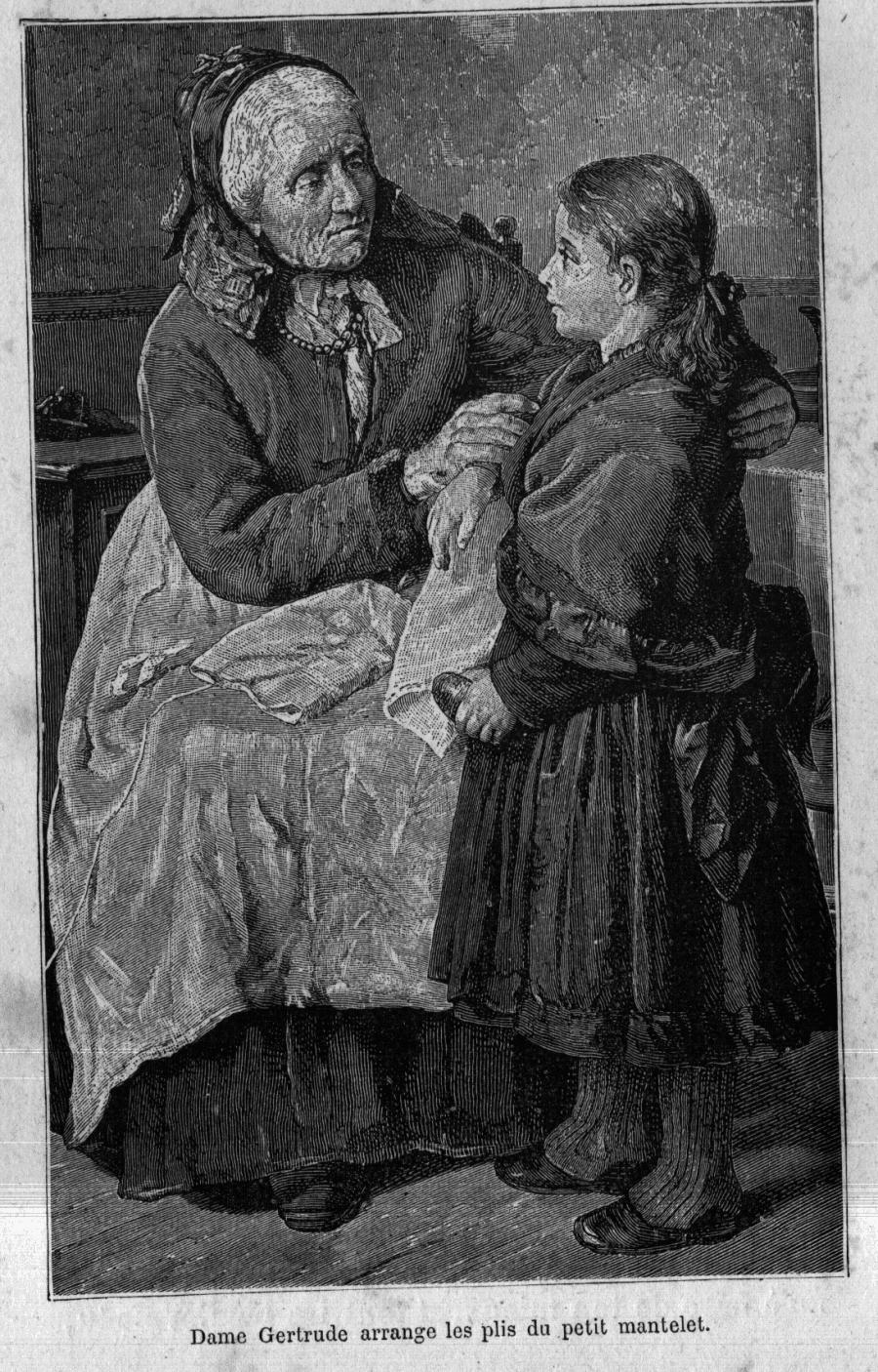 Dame Gertrude et Annette